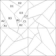 Resultado de imagen para estrellas de patchwork patrones