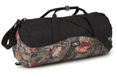 High Sierra Kings Camo Duffel In A Bottle Bag, 18 L, Woodland Shadow/Black ** See this great item shown here  : Camping supplies