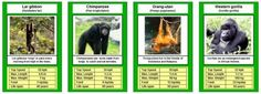 Free Printable Cards, Free Printables, Trump Card, Top Trumps, Animal Games, Play To Learn, Fun Learning, Card Games, Mammals