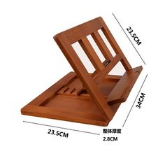 Diy muebles para libros 34 New ideas Wooden Book Stand, Wooden Books, Art Stand, Wooden Easel, Book Holders, Book Stands, Diy Holz, Diy Bed, Wood Design
