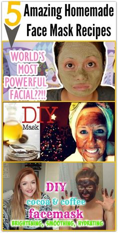 Health Matters: 5 Amazing Homemade Face Mask Recipes