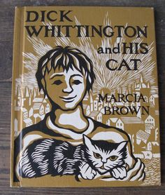 dick whittington and his cat classic childrens book 1950 mid