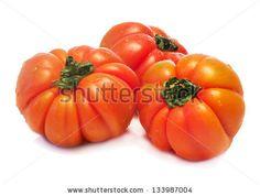 salad tomatoes over white background by Donatella Tandelli, via ShutterStock