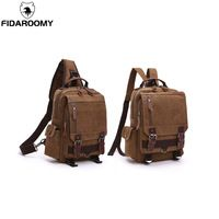 d8f78bc50c FIDAROOMY 2018 New Women Shoulder Bag Canvas School Backpack With Large  Capacity Student Backpack School Backpacks