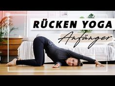 Yoga Back Beginner Program Exercises against tension and back pain - Yoga full body flow Yoga Yin, Yoga Meditation, Fitness Workouts, Yoga Fitness, 30 Tage Yoga Challenge, Workout Challenge, Ashtanga Yoga, Vinyasa Yoga, Kundalini Yoga