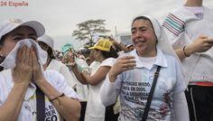 """Víctimas de las FARC: """"El Papa vino y se irá engañado"""""""