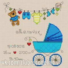 VK is the largest European social network with more than 100 million active users. Baby Cross Stitch Patterns, Cross Stitch For Kids, Cross Stitch Baby, Cross Stitching, Cross Stitch Embroidery, Embroidery Flowers Pattern, Welcome Baby, Pebble Art, Bargello