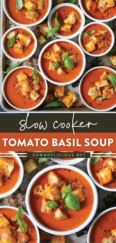Damn Delicious Recipes, Best Soup Recipes, Chicken Soup Recipes, Salad Recipes, Vegetarian Recipes, Healthy Recipes, Slow Cooker Recipes, Cooking Recipes, Crockpot Recipes
