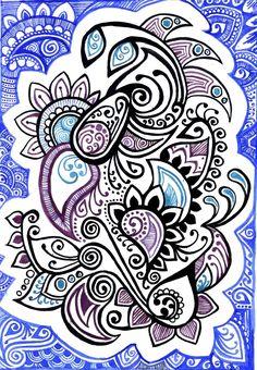 Doodle: ink + watercolor by yael360.deviantart.com on @DeviantArt
