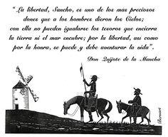 Don Quijote de la Mancha, la libertad