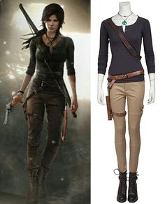 And compare to the other costumes you won't wear again, the whole Lara Croft cosplay costume can be worn again as everyday wear. If you've ever wanted to break out in a sexy but still comfortable and fun costume, Lara Croft cosplay costume is the perfect character to choose.