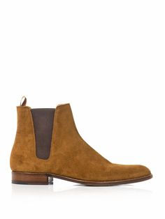 Saint Laurent by Hedi Slimane suede Chelsea boots