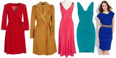Dresses and Coats for Hourglass Body Type by Creative Fashion, via Flickr
