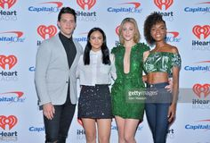 Casey Cott, Camila Mendes, Lili Reinhart, and Ashleigh Murray attend the 2017 iHeartRadio Music Festival at T-Mobile Arena on September 23, 2017 in Las Vegas, Nevada.