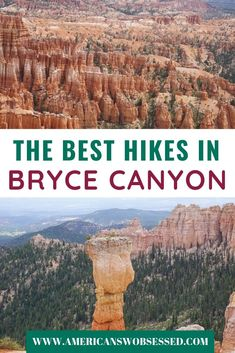 Do you only have one day in Bryce Canyon and want to know what are the best spots? This list of viewpoints and short hikes in Bryce Canyon will help you plan your trip Travel Vacation List Holiday Tour Trip Destinations Usa Travel Guide, Travel Usa, Travel Tips, Travel Abroad, Travel Guides, Travel Articles, Canada Travel, Travel Packing, Cool Places To Visit