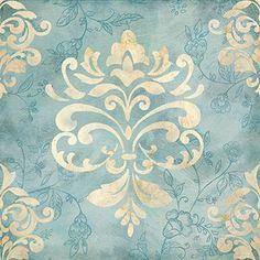 Romantic Damask I Cynthia Coulter