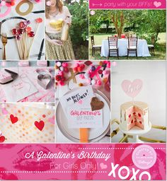 Plan a Glittery Galentine's Birthday Party: For Girls Only!