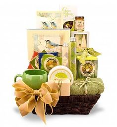 Organic Spa and Tea Gift Basket « Delay Presents