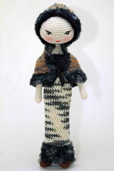 Вязаная куколка Марьяша - Магазин Лавочка Подарков ☆
