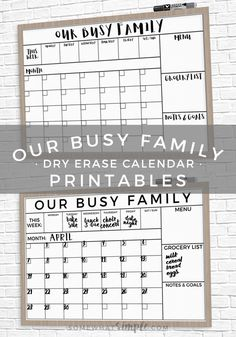 10 Best Family Calendar Organization images | Command centers