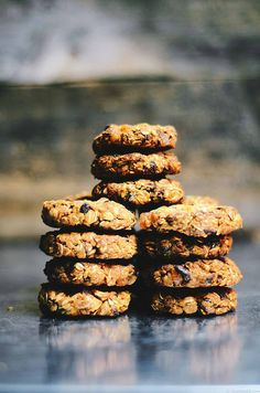 Dried Apricot and Fig Almond Oatmeal Cookies   A Brown Table