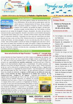 PARÓQUIAS DO PORTO SANTO: Boletim do mês de Julho