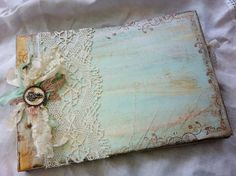 Bridal shower Memory AlbumGuest book by youruniquescrapbook, £125.00