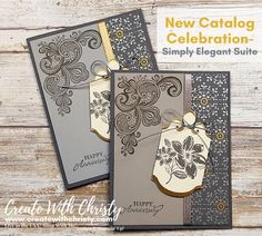 Anniversary Greetings, Happy Anniversary, Anniversary Cards, Make Your Own Card, New Catalogue, Fancy Fold Cards, Flower Stamp, Stamping Up Cards, Baby Kind