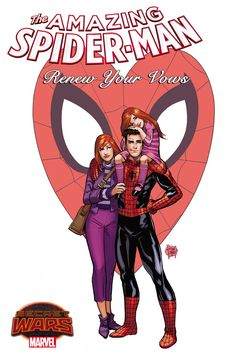 """We have the first details about the Secret Wars tie-in that will bring back Peter Parker's marriage and child for what's being billed as """"The Last Spider-Man Story."""""""