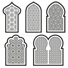 Islamic Art Pattern, Arabic Pattern, Moroccan Design, Moroccan Decor, Motifs Islamiques, Jaali Design, Decoration Evenementielle, Foto Gif, Arabian Art