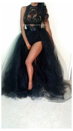 Black Wedding Dresses, Prom Dresses, Formal Dresses, Tulle Ball Gown, Birthday Dresses, 30th Birthday Themes, 35th Birthday, Birthday Ideas, Sexy Skirt