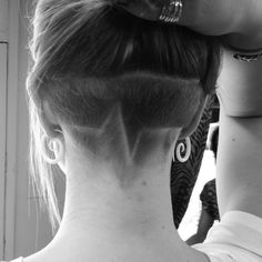 The undercut hairstyle has made a comeback for both men and women. From the vint… - New Hair Design Undercut Hair Designs, Undercut Women, Undercut Hairstyles, Pretty Hairstyles, Blond, Half Shaved Hair, Shaved Head, Natural Hair Styles, Short Hair Styles