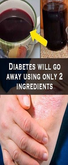 Diabetes will go away using only 2 ingredients - N-Tips