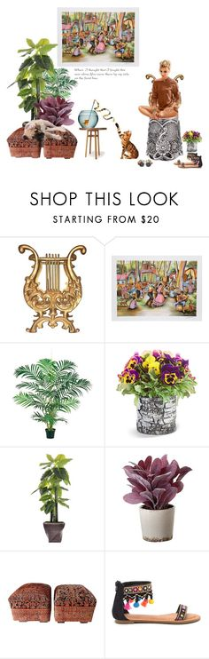 """""""Thanks for being by my side"""" by didesi ❤ liked on Polyvore featuring interior, interiors, interior design, home, home decor, interior decorating, Improvements, Laura Ashley, Torre & Tagus and Dolce&Gabbana"""