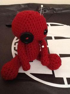 """Free Pattern: Crochet Amigurumi Voodoo Doll"" #Amigurumi  #crochet"