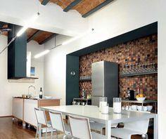 Rivestimento per parete di cucina 01   Cucine   Pinterest