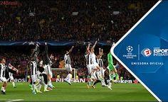Melhores Momentos - Barcelona 0 x 0 Juventus - Champions League (19/04/2017)