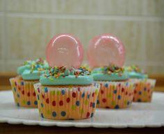 Bubble cupcakea