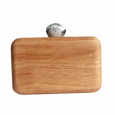 Wooden Clutch //Price: $36.99 & FREE Shipping //     #woodenaccessories
