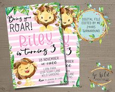 Printable Party Invitations and Printable Decorations by GoWildPrintables Digital Invitations, Party Invitations, Printable Party, Etsy Seller, Etsy Shop, Handmade Gifts, Kid Craft Gifts, Craft Gifts, Diy Gifts