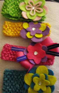 The Sweet & Simple Sisters: DIY Felt Flower Hair Accessories & Pins