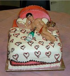 A sexy cake for the ladies
