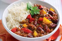 Slimming World chilli con carne - favourite for low carb high protein with turkey mince