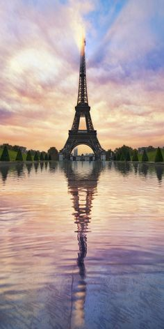 - Eiffel Tower - Paris, France -