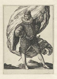 Vaandrig, Hendrick Goltzius, 1585