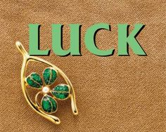 Deborah Holland shared some luck with us today ! (Smiles)