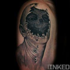 Nick Chaboya #InkedMagazine #skull #creepy #tattoo #tattoos #inked #ink #art