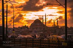 ISTANBUL SUNSET by MARKBELUGAS #architecture #building #architexture #city #buildings #skyscraper #urban #design #minimal #cities #town #street #art #arts #architecturelovers #abstract #photooftheday #amazing #picoftheday