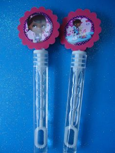 Doc Mcstuffins party favor bubbles Doc by SassyCreationz on Etsy