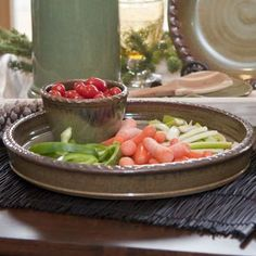 Woolrich Home Chip & Dip Tray for summer parties